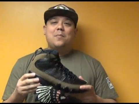 online store e1282 cd26e 2012 Air Jordan 9 Olive IX Sneaker Review With @DjDelz Including On Feet