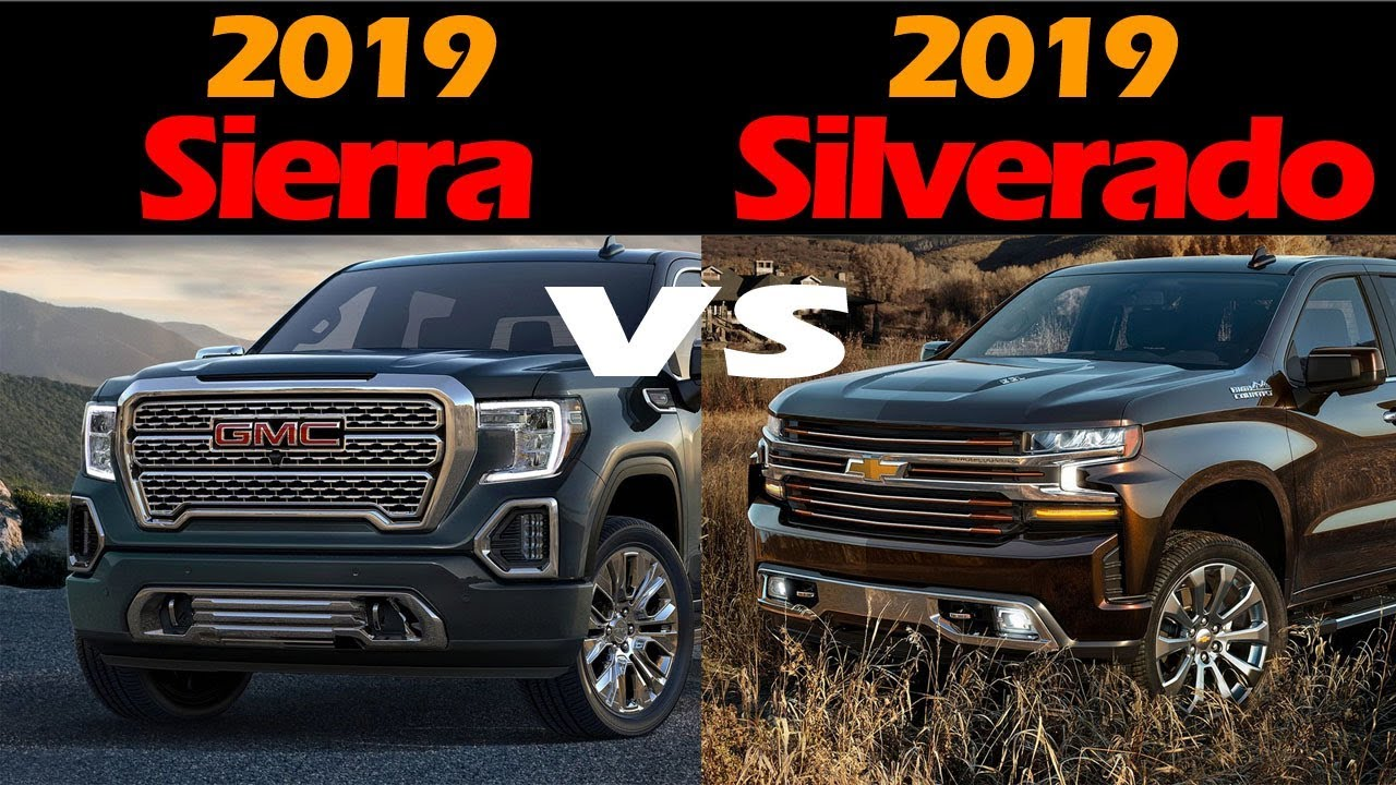 MUST WATCH!! 2019 GMC Sierra vs 2019 Chevrolet Silverado ...