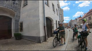 Waldviertel Radfahren 2020-07 Tag3: Dobersberg, Slavonice, ...