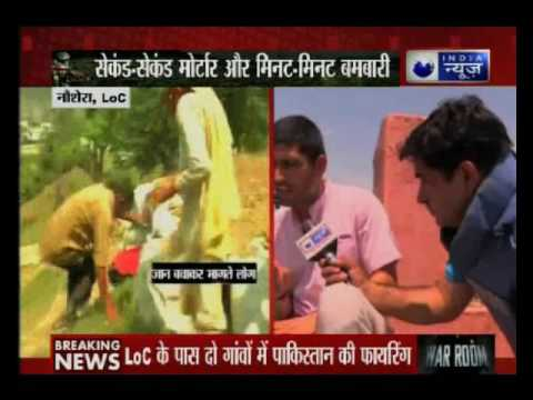 Pakistan violates ceasefire: India News ground zero report from Ind0-Pak border, Jammu and Kashmir