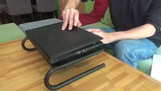 Monitor Stand Riser with vented Metal for Computer, Laptop, Desk