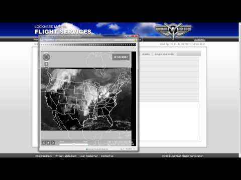 Flight Service Video: Weather Page