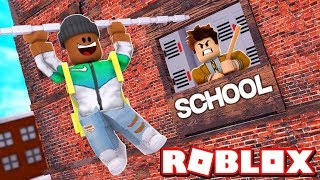 *NEW* FIRST DAY OF SCHOOL ESCAPE IN ROBLOX