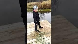 Магнитная рыбалка в Костроме часть 2