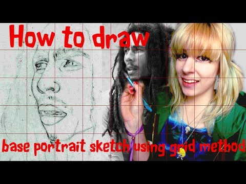 using-the-grid-method|-how-to-draw-the-base-sketch-for-a-portrait|-tutorial-cloctor-creations