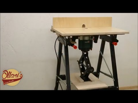 Quick and Easy Portable Router Table DIY