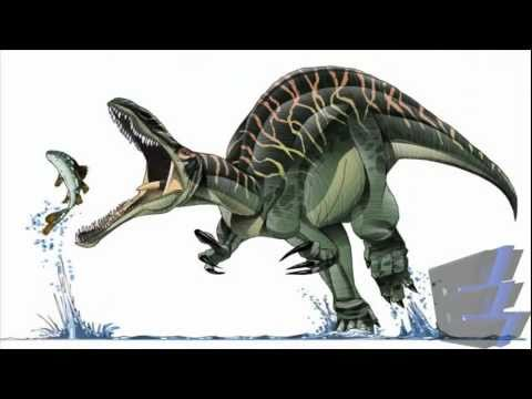 Ancient Reptile Tribute Three - Suchomimus / Spinosaurid - Dinosaur.