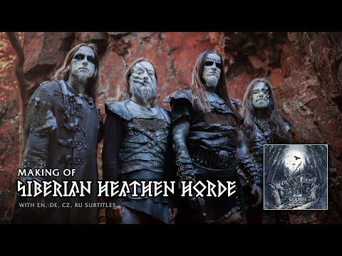 "Making Of ""Siberian Heathe Horde"" album  [ with EN,DE,CZ,RU subtitles ]"