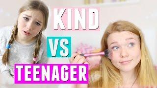 Was KINDER machen VS was TEENAGER machen! mit Julia Beautx | Meggyxoxo