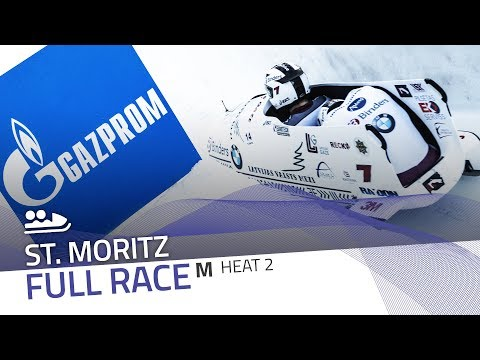 St. Moritz | BMW IBSF World Cup 2017/2018 - 2-Man Bobsleigh Heat 2 | IBSF Official