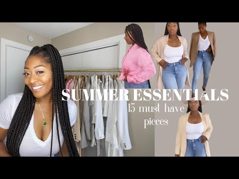 SUMMER ESSENTIALS 2020   15 Key pieces you may want to add to your wardrobe!