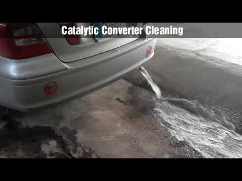 2019-Catalytic Converter Cleaning #Peshawar #Pakistan