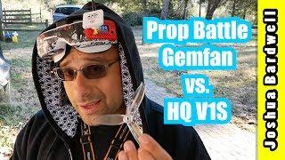 Gemfan WinDancer vs HQ V1S For Freestyle