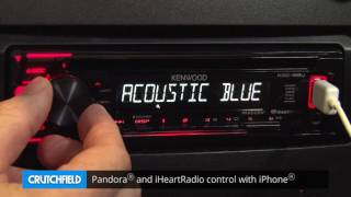 Kenwood KDC-168U Display and Controls Demo | Crutchfield Video