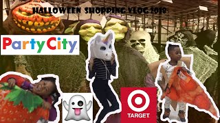 Funny Costume Dance off  with Unicorn Head/ Halloween Shopping Vlog*