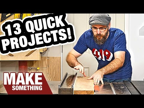 13 Woodworking Projects You Can Make as Christmas Gifts!