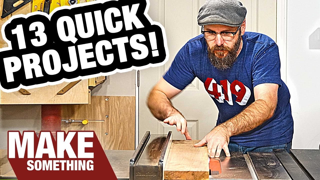 13 Woodworking Projects You Can Make As Christmas Gifts Youtube