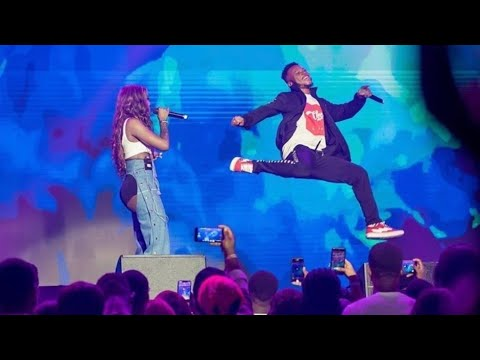 Download Watch Tiwa Savage Dance With Pocolee Before Performing With His Talented Young Dancers