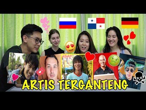 【LAGI VIRAL】REAKSI CEWEK LUAR NEGERI LIAT ARTIS & YOUTUBER INDONESIA ! ( ATTA HALILINTAR, BAIM WONG)