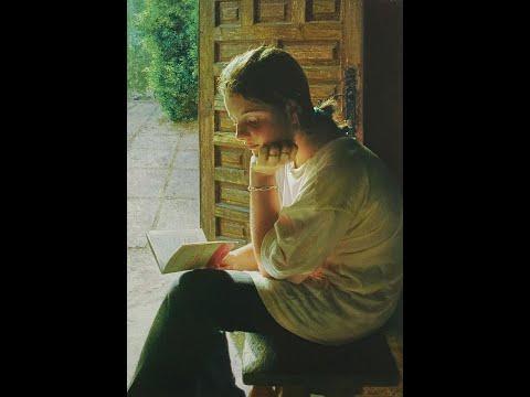 Isabel Guerra Peñamaría (1947) Spanish painter ✽ Chopin , Nocturno