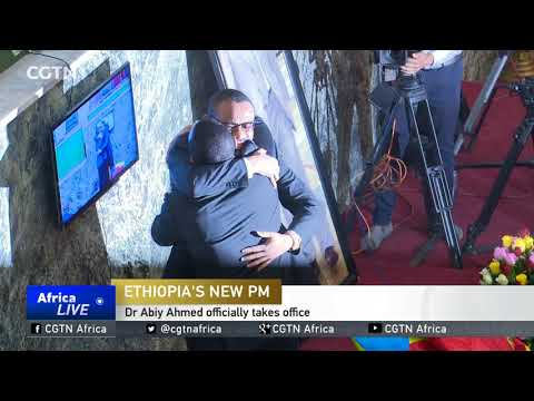 Abiy Ahmed sworn in as Ethiopia's PM