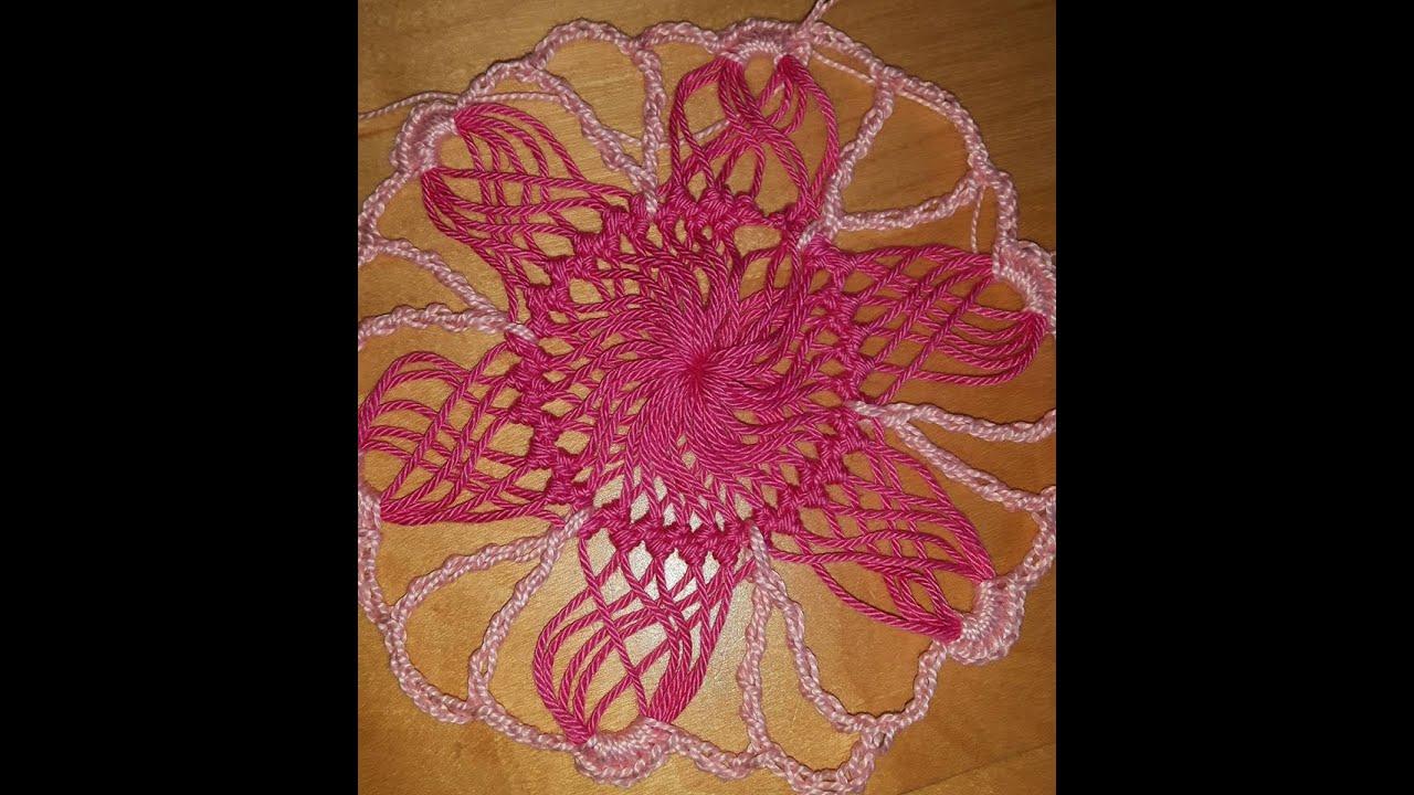 Crochet blusa de verano en horquilla, los motivos Parte 1 - con Ruby ...