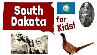 South Dakota for Kids   US States Learning Video