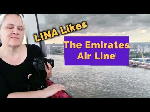 LINA Likes The Emirates Air Line - Well Lisa Doesn't