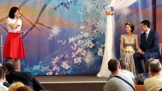 Вокальное поздравление от Марины Рожковой. Венчание 29 апреля 2017 г.