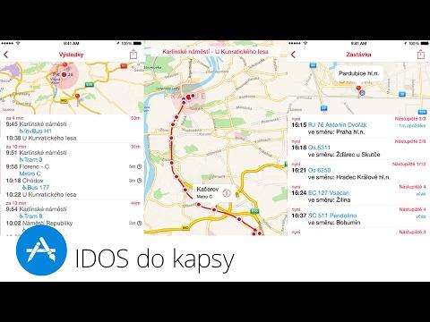 IDOS do kapsy (Apple aplikace týdne)