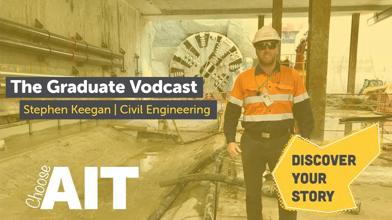 The Graduate Vodcast | Ep.1 | Stephen Keegan | Civil Engineering
