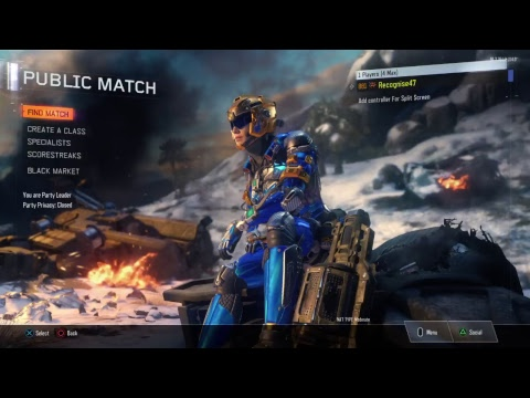 BO3 Casual Stream. Come by and cop a squat.