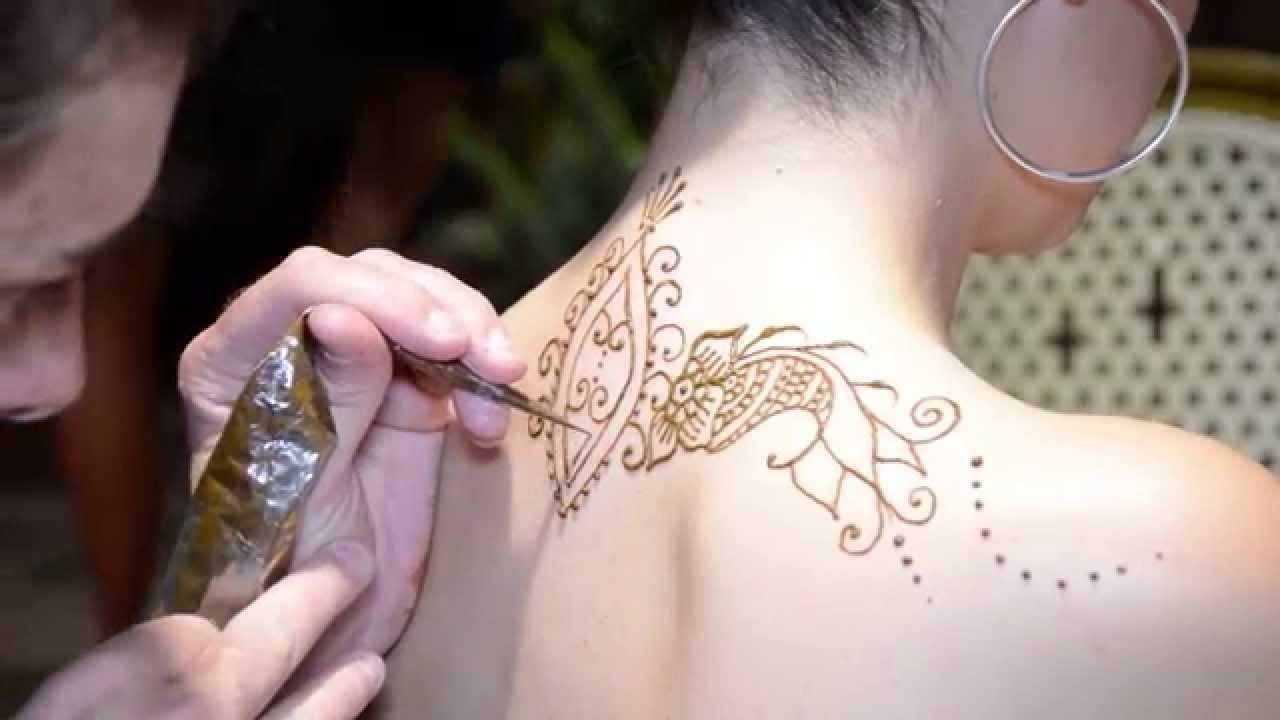 Tatuajes En Henna Natural Y Sin Dolor Youtube