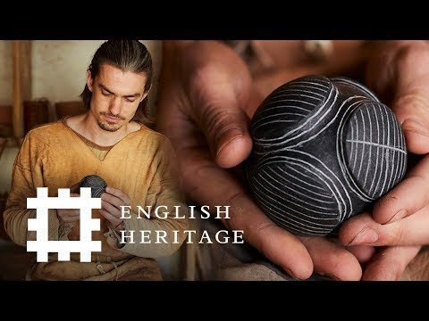 How to Make a Carved Stone Ball | Stone Age Technology