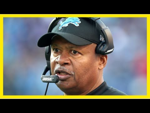 Report: Jim Caldwell's extension gives him a guarantee only through 2018