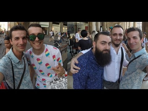 Vi porto all'incontro di 4 ragazzi...Vlog 4 Luglio a Milano