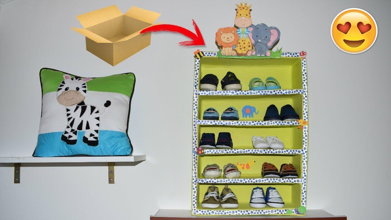babies room decor / Shoe organizer