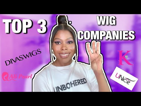 TOP 3 MOST AFFORDABLE WIG COMPANIES!