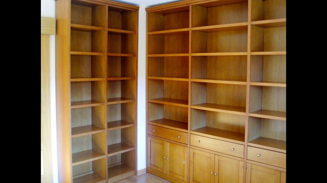 Muebles para sal n comedor en madera de haya a medida ideas en muebles youtube - Muebles de madera a medida ...