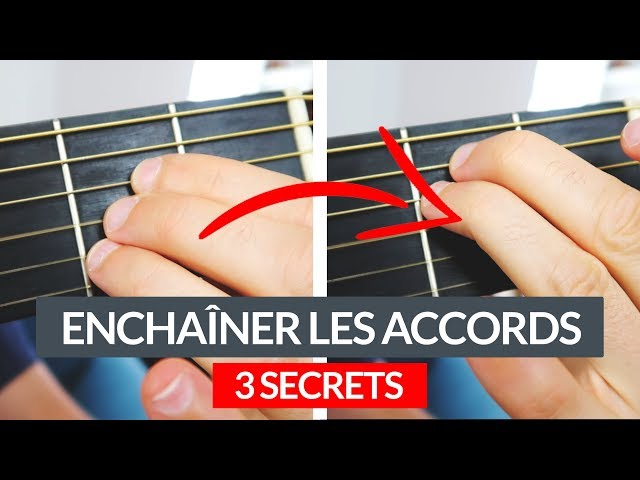 ENCHAÎNER les accords de guitare PLUS FACILEMENT