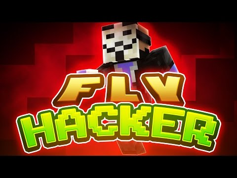 FLY HACKER VS YOUTUBERS ( Minecraft Micro Battle w/ TheCampingRusher, Preston, and Kenny )