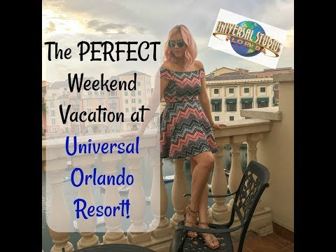 The Perfect Weekend at UNIVERSAL ORLANDO RESORT| Megan Navarro