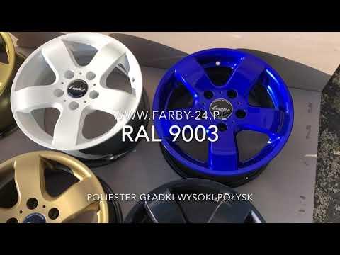 RAL 9003 Farba Proszkowa