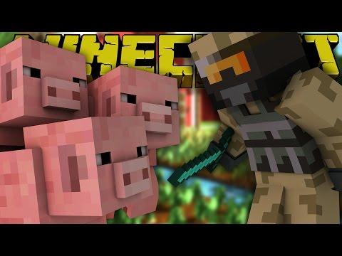 Dansk Minecraft: ZAGI VS GRISENE!