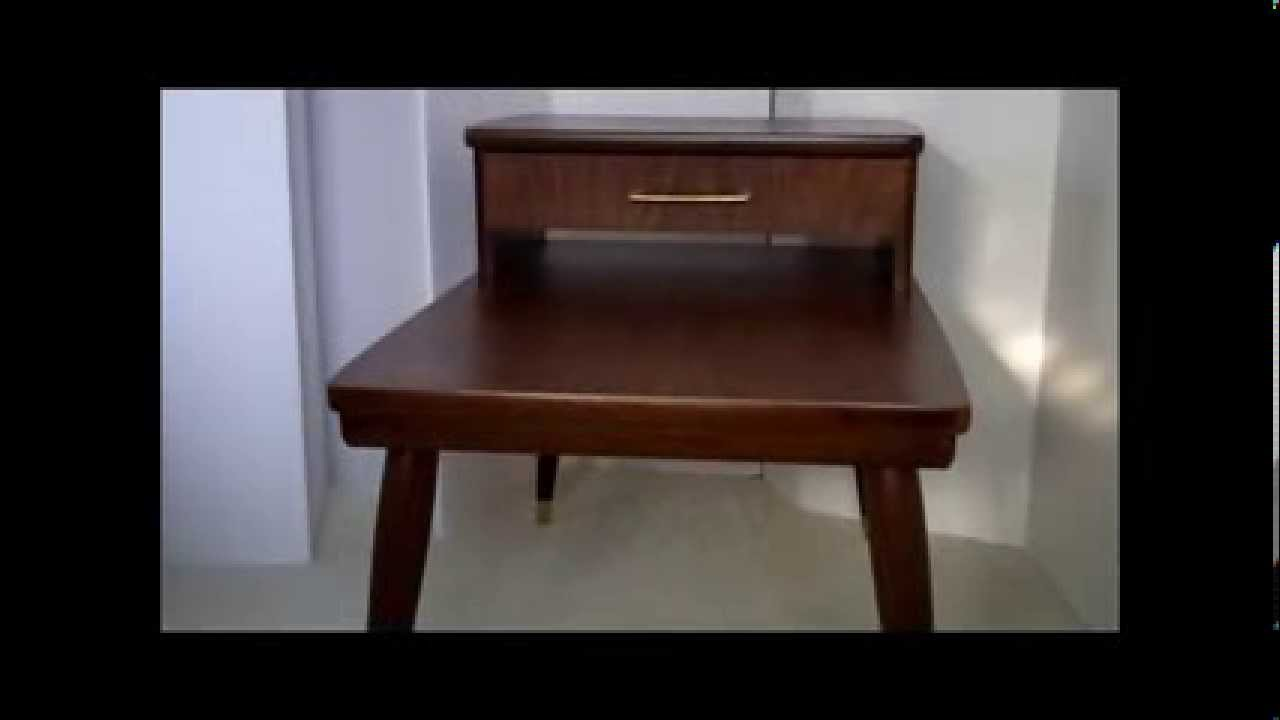 MID CENTURY FURNITURE 4 LESSCOM MID CENTURY MODERN TWO TIER END