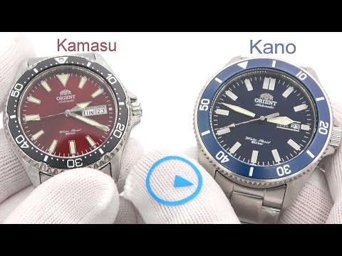 Orient Kamasu And Kano Dive Watches Deliver What You Want!