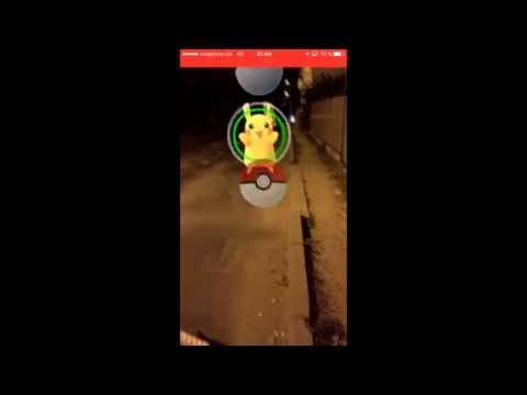 Как поймать Пикачу покемон Го Pokemon Go