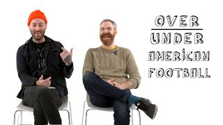 American Football Rate Greta Van Fleet, Bradley Cooper, and Celebrity ASMR | Over/Under