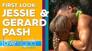 First look: Eoghan fumes as Jessie and Gerard share a steamy kiss | Love Island Australia 2019