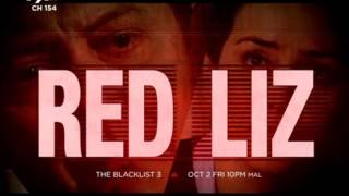 Trailer AXN The blacklist S3